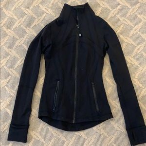 Lululemon Black Athletic jacket size 2